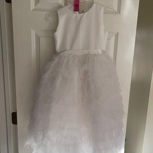 Size 6 white formal dress